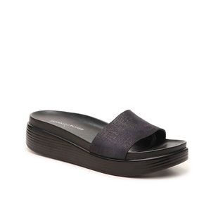 Black Donald Pliner Sandals